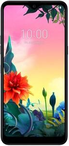 LG K50s Aurora Black Smartphone (6,49 Zoll, Android 9.0, Octa-Core, Triple-Kamera, 3 GB Ram, 32 GB interner Speicher, 4.000 mAh)