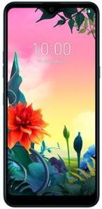 LG K50s Moroccan Blue Smartphone (6,49 Zoll, Android 9.0, Octa-Core, Triple-Kamera, 3 GB Ram, 32 GB interner Speicher, 4.000 mAh)