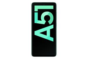 Samsung Galaxy A51 Prism Crush Blue Smartphone (6,5 Zoll, 128 GB, 48 MP, Quad-Kamera, 4.000-mAh, Octa-Core, Fingerabdrucksensor, Gesichtserkennung, blau)