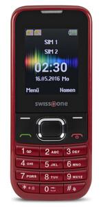 Swisstone SC 230 Dual-SIM rot Handy