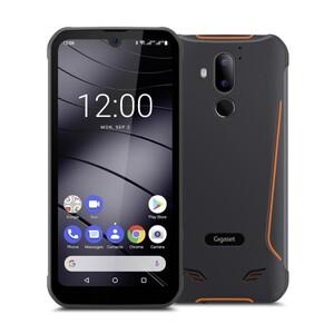GIGASET GX290 grau Smartphone (6,1 Zoll HD+ V-Notch Display, 32 GB, Dual-SIM, 6200 mAh, Octa-Core, IP68 Schutz, NFC, Wireless Charging, Face-ID, Fingerprint)