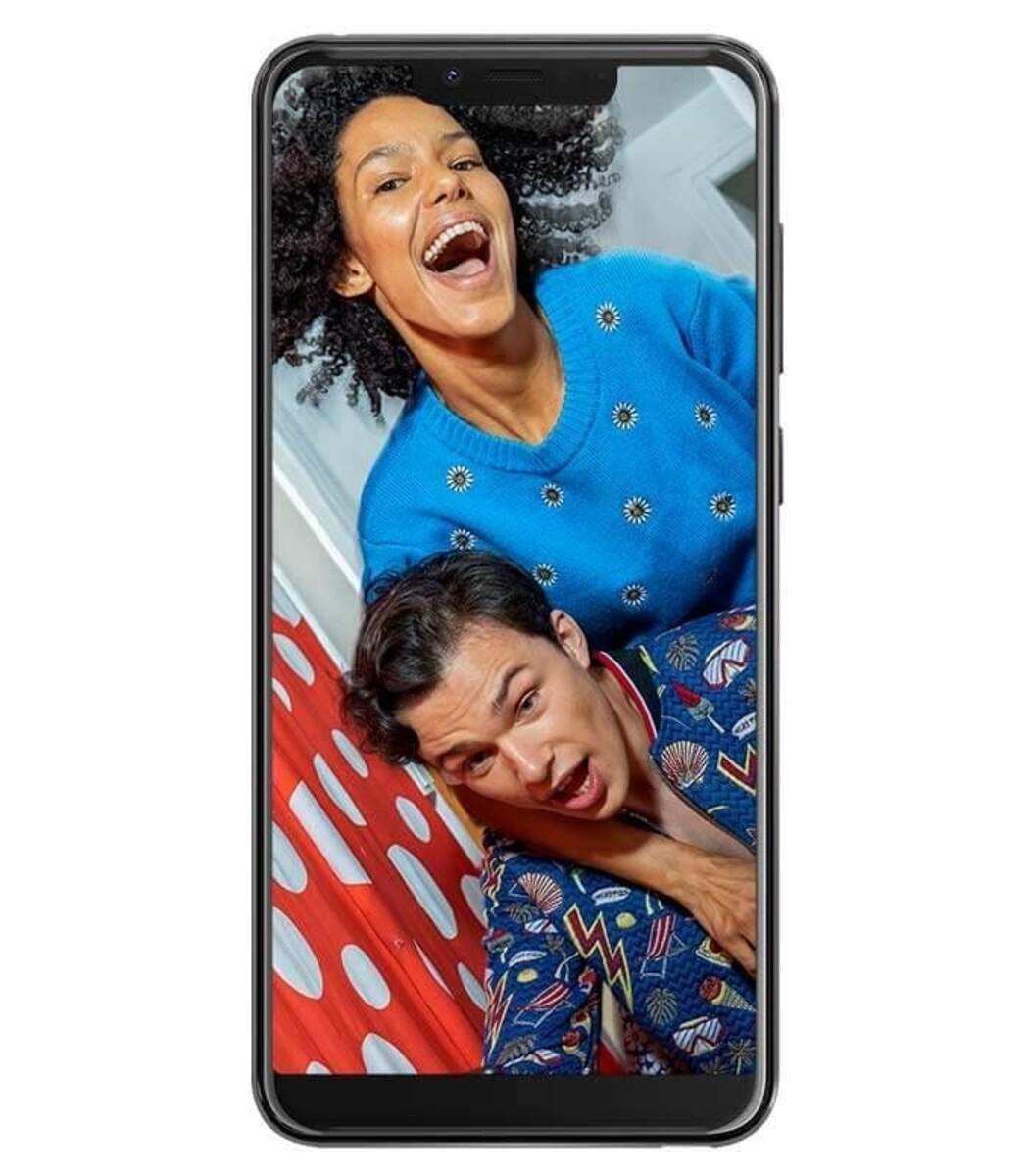 Bild 4 von Wiko View 2 Go Dual-SIM lavendel/türkis Smartphone (5,93 Zoll, 32 GB, 4.000-mAh, 12 MP, Octa-Core, Fingerabdrucksensor)