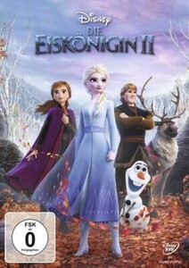 DVD DIE EISKÖNIGIN 2