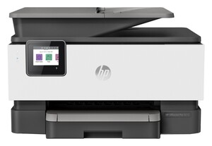HP OfficeJet Pro 9012 weiß-schwarz Multifunktionsdrucker (Tintenstrahldrucker, 4-in-1, Fax, Scanner, Kopierer, WLAN, AirPrint, Wi-Fi Direct, Duplex, Instant Ink)