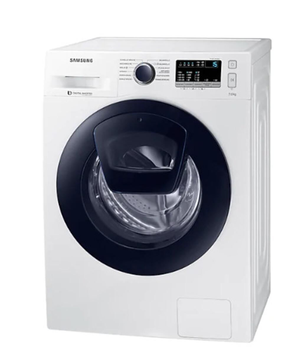 Bild 3 von Samsung Waschmaschine WW4500 WW70K44205W/EG (Energieeffizienzklasse A+++, 7 kg, 1.400 U/min, Diamond Pflegetrommel, Smart Check, weiß, Frontlader)