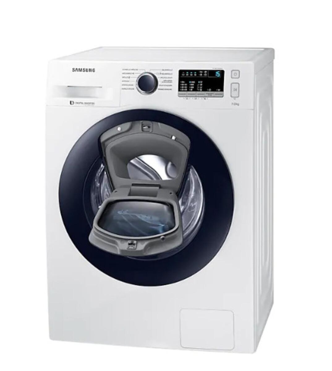 Bild 4 von Samsung Waschmaschine WW4500 WW70K44205W/EG (Energieeffizienzklasse A+++, 7 kg, 1.400 U/min, Diamond Pflegetrommel, Smart Check, weiß, Frontlader)