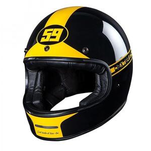 Dexter Marty Motorradhelm gelb Größe XS
