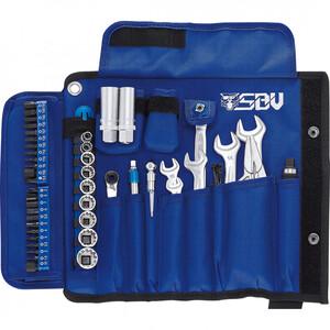 SBV Tools Motorrad Werkzeug-Set 60tlg. Basis