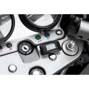 Hashiru Digitaluhr mit Klett-Befestigung 46x23,5x13mm