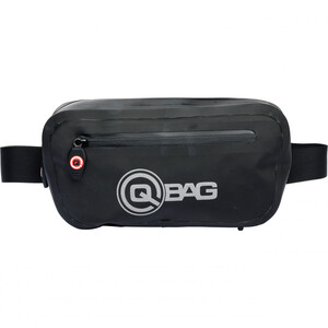 QBag Gürteltasche wasserdicht 1,5 Liter schwarz schwarz