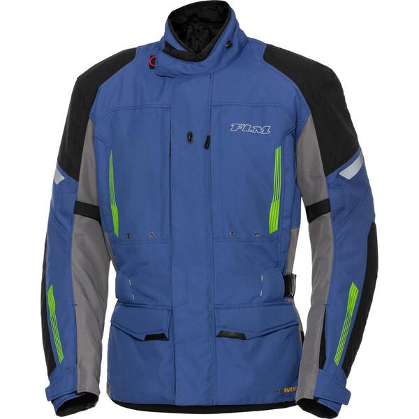 FLM            Touren Textiljacke 3.0 blau