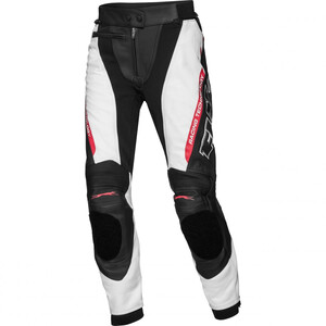 FLM            Sports Damen Lederkombihose 3.0 schwarz/weiß