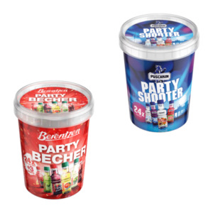 Puschkin Party Shooter / Berentzen Party Becher
