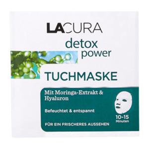 LACURA     detox power Tuchmaske