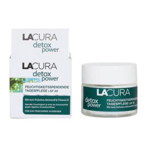 LACURA     detox power Feuchtigkeitsspendende Tagespflege