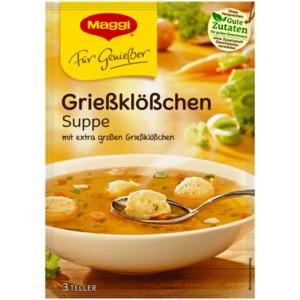 Maggi Für Genießer Grießklößchen Suppe 62g