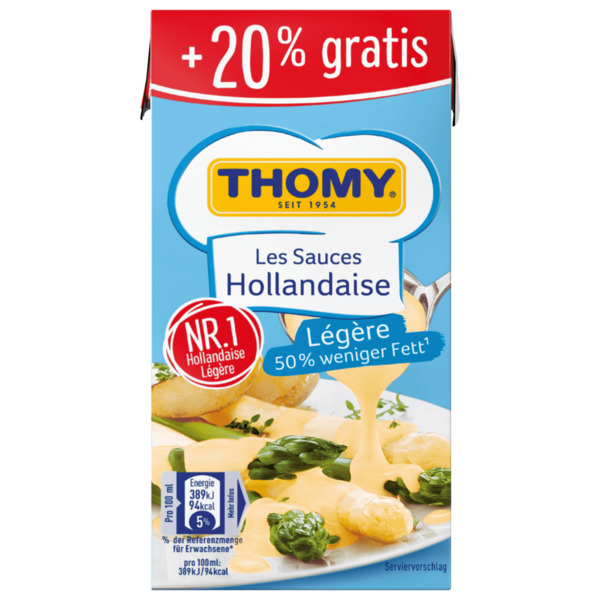 Thomy Les Sauces Hollandaise 300ml