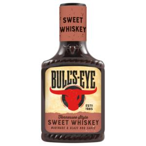 Bull's Eye Sweet Whiskey BBQ Sauce 300ml