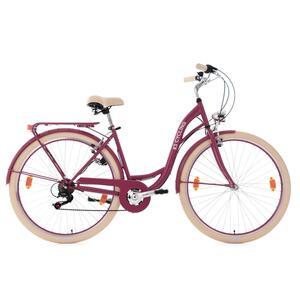 KS Cycling Damenfahrrad Cityrad Balloon 6 Gänge, 28 Zoll