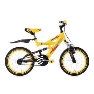 KS Cycling Fully Kinder-Mountainbike Krazy 16 Zoll für Jungen