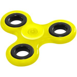 "Hand Spinner ""Glow in the Dark"" gelb"