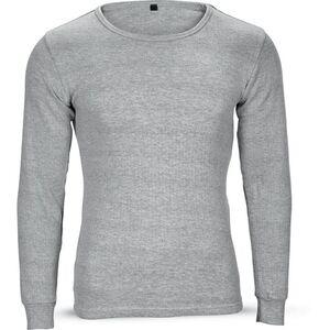 SoC Damen oder Herren Thermo Unterwäsche Set - Damen, grau melange, Gr. XL