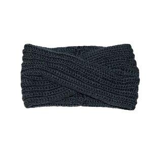 Damen Stirnbänder - gekreuzt, dunkelgrau