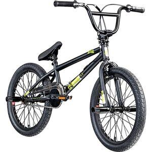 deTox Rude 20 Zoll BMX Freestyle Street Park Einsteiger Anfänger ab 140 cm Fahrrad... schwarz/grün