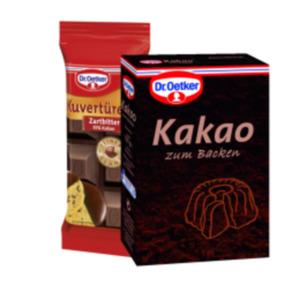 Dr. Oetker Kakao zum Backen oder Kuvertüre
