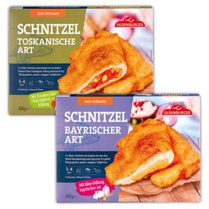 Oldenburger Gefüllte Schnitzeltaschen