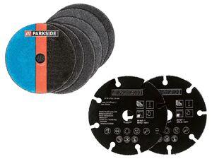 PARKSIDE® Winkelschleifer Zubehör »12V PWSZ 76 A1«, Metall- und Multi-Trennscheiben