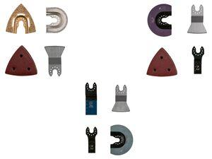 PARKSIDE® Zubehör für Multifunktionswerkzeug »PMFWZA 3 A1«, für gängige Werkzeuge