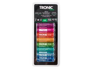 TRONIC® NiMh-Akku, Ready to use, Wiederaufladbar, 8 Stück