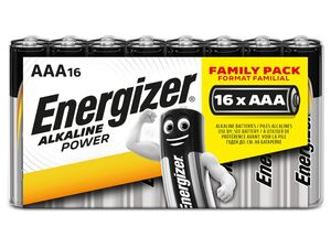 Energizer  Alkaline Power Schlauchware Micro AAA Batterie 16 Stück
