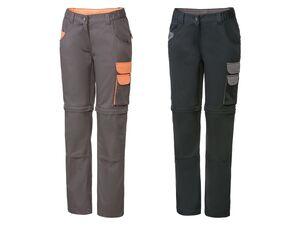 PARKSIDE® Arbeitsbundhose Damen, mit Zip-Off-Funktion und Taschen, mit Baumwolle