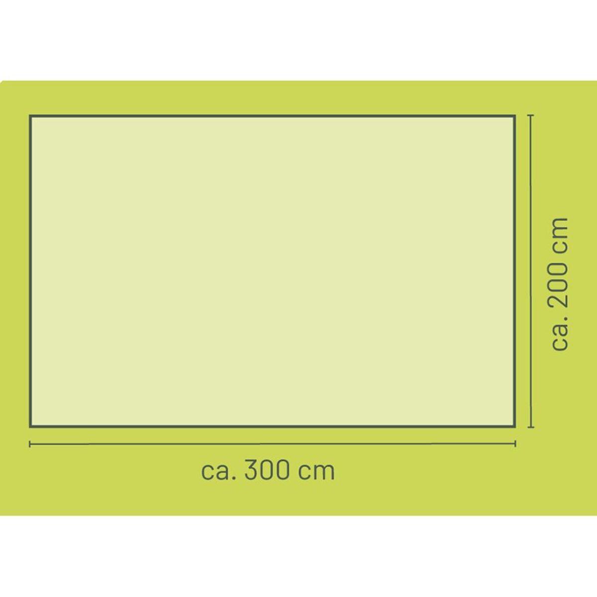 Bild 3 von Sonnensegel Rechteckig 300x200cm Natur, 100% Polyester, Gewicht: ca. 1,80kg