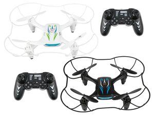 Quadrocopter, 4 Geschwindigkeitsstufen, 5-7 Minuten Flugzeit, ab 8 Jahren