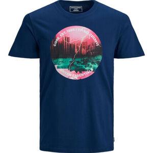 Jack&Jones Originals T-Shirt, Print, Rundhals, für Herren