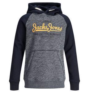 Jack&Jones Originals Sweatshirt, zweifarbig, Kapuze, Logo, für Jungen