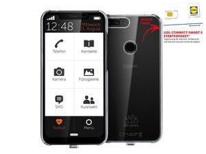 Gigaset Senioren Mobiltelefon Smartphone GS195LS Life Series inkl. Lidl Connect Smart S