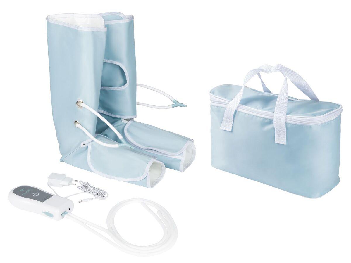 Bild 1 von SANITAS Venen-Massagegerät, 2 Beinmanschetten mit Klettverschluss, inklusive Tasche