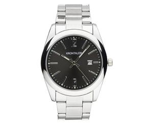 KRONTALER Damen- und Herren-Armbanduhr