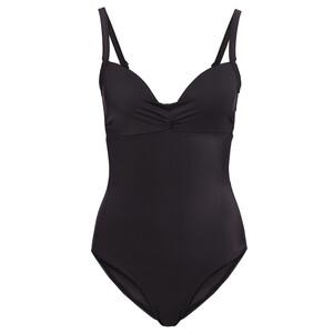 Damen Badeanzug mit Raffung