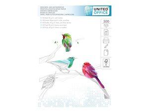 UNITED OFFICE® Kopier- und Druckerpapier, DIN A4, 500 Blatt pro Pack, FSC