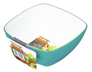 EDEKA zuhause Salatschälchen helltürkis 13,5 x 13,5 x 7 cm 1 Stück