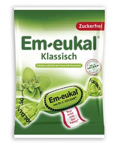 Em-Eukal Hustenbonbons klassisch zuckerfrei 75 g