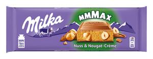 Milka Nuss Nougat-Creme Großtafel 300 g