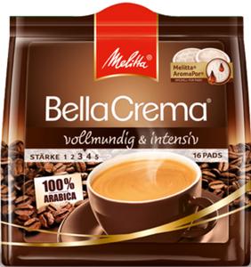 Melitta BellaCrema Kaffeepads vollmundig 16x 6,5 g