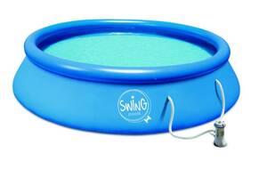 """Swing Pool"" mit Kartuschenfilter-Pumpe 12V"