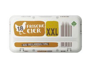 Frische Eier aus Freilandhaltung XXL-Packung